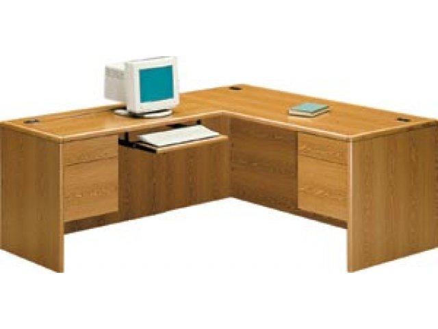 HON L-Shaped Office Desk w/Left Return HON-2000L, Office Desks