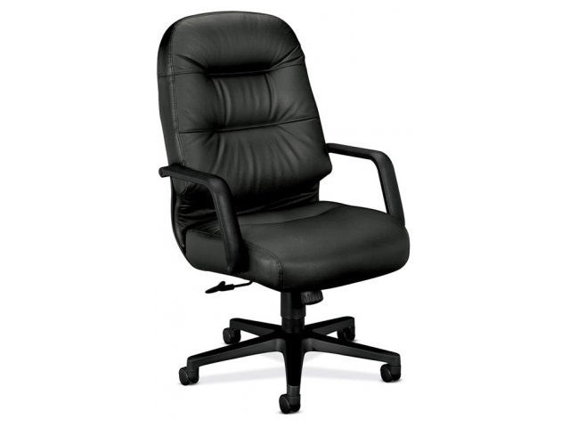 HON Leather High Back Executive Office Chair HON 2091