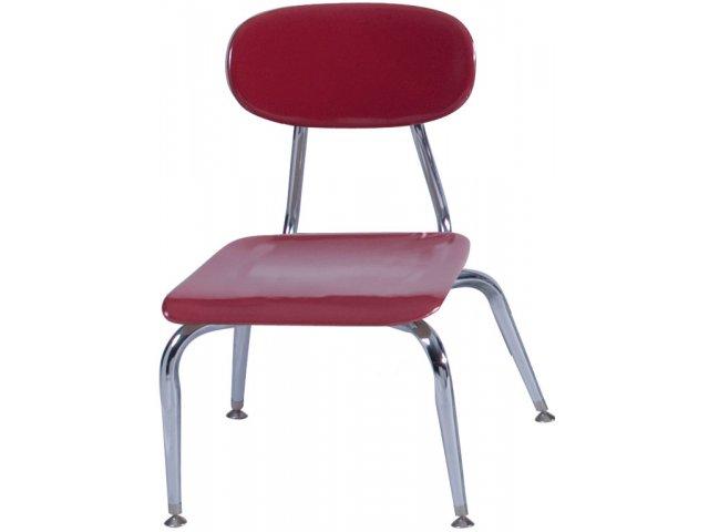 Hard Plastic Stackable School Chair 11.75\