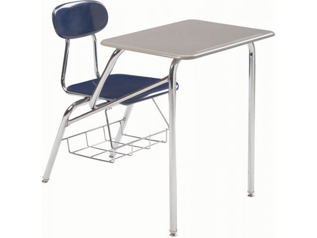 "Chair And Desk Combo combo student chair desk - hard plastic top 18""h, student chair desks"