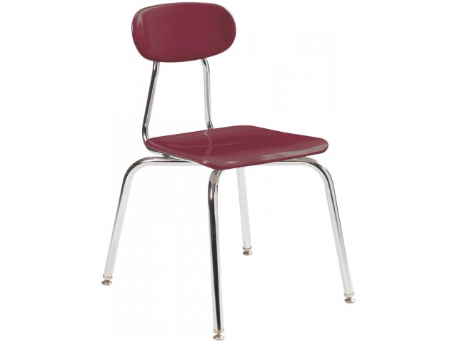 Hard Plastic Stackable School Chair Classroom Chairs
