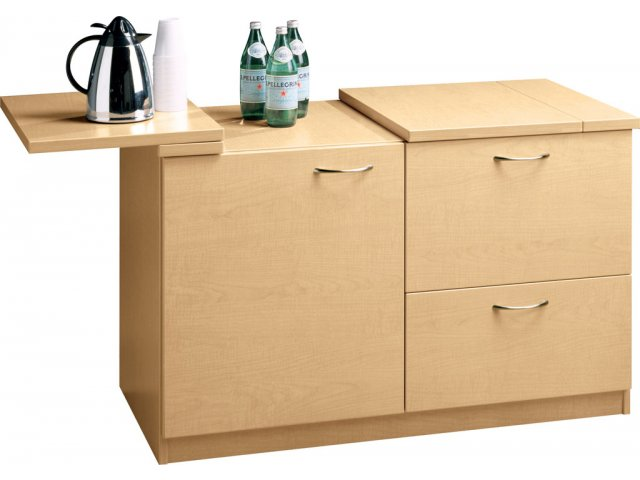 Delicieux Hyperwork Mobile Office Buffet Credenza