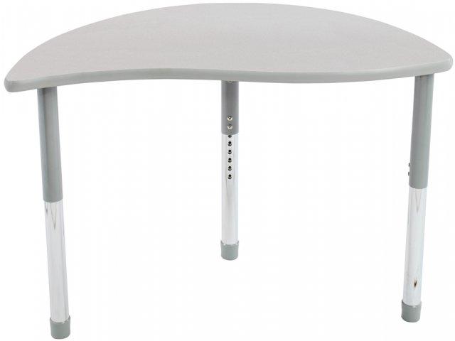 Collaborative Classroom Tables ~ Rhythm collaborative classroom table w colored trim hrm