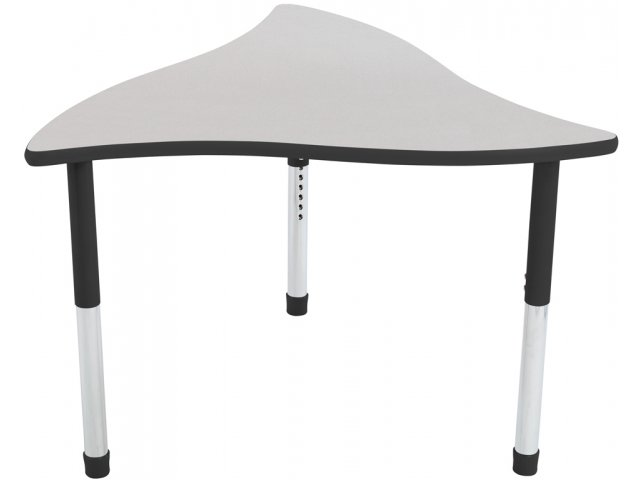 Collaborative Classroom Tables : Tone collaborative classroom table w colored trim hrm