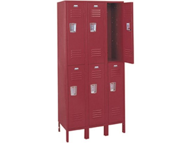 Hertz Customer Service Chat >> 3-Wide Double Tier Locker 37x15x72, School Lockers