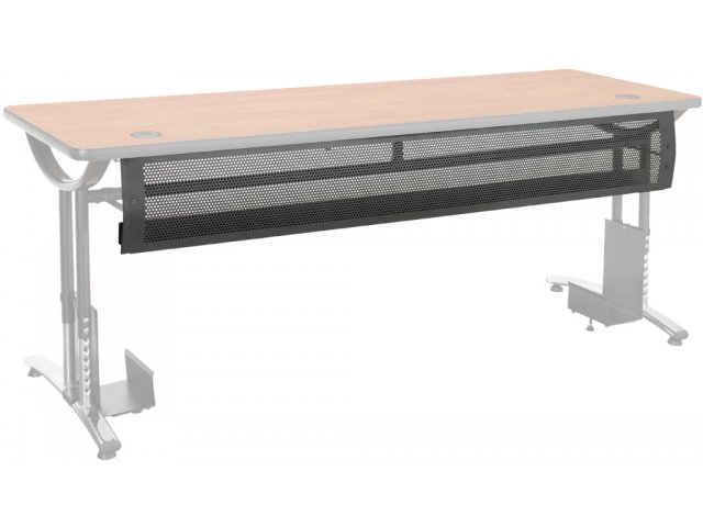 In Wire Management Modesty Panel ILT Training Seminar Tables - Training table dimensions