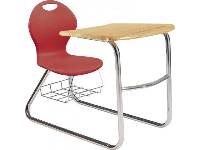 Inspiration Student Chair Desk   Sled Base