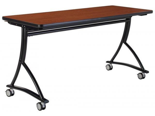 V nesting training table quot flip top tables