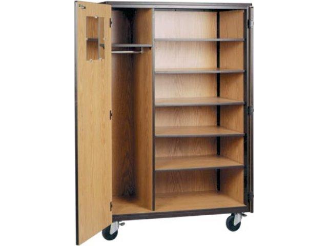 "Hertz Customer Service Chat >> Locking Mobile Wardrobe Storage Closet- 5 Adj Shelves, 72""H IRW-1085-CL, Wardrobe Storage Cabinets"