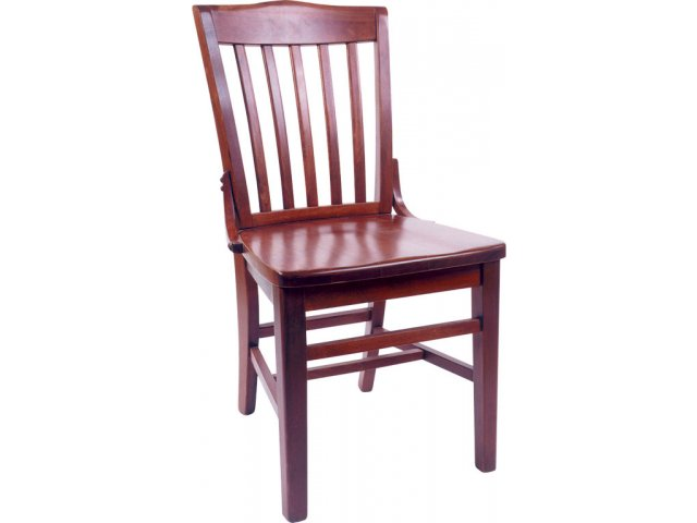 Classic Wood Library Chair