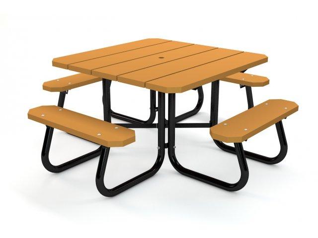 Square Resin Picnic Table