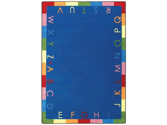 Rainbow Alphabet Classroom Rug 7 8 Quot X10 9 Quot Abc Rugs