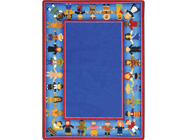 Children Of Many Cultures Clroom Rug