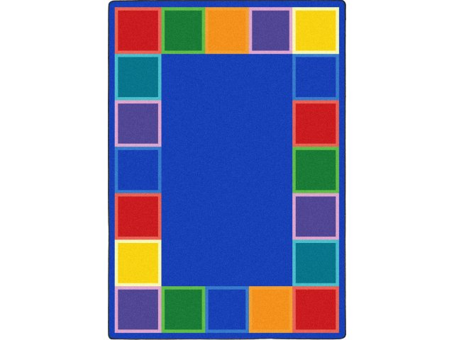 Color Tones Classroom Rug 10 9 X13 2 Shapes Amp Solid Rugs
