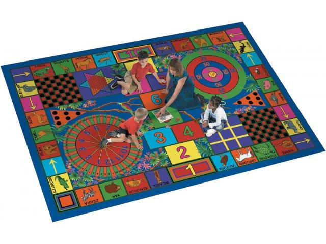 Teachers Pet Rectangle Carpet 13 2 Quot X10 9 Quot Activity Amp Game