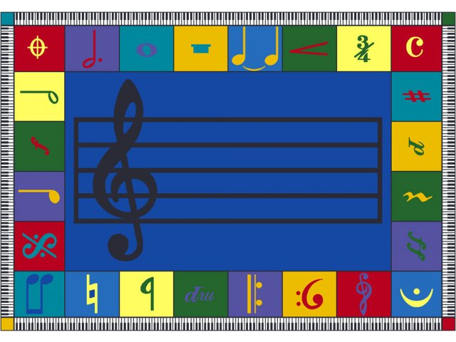 Noteworthy Elementary Music Rug Area Rug Ideas
