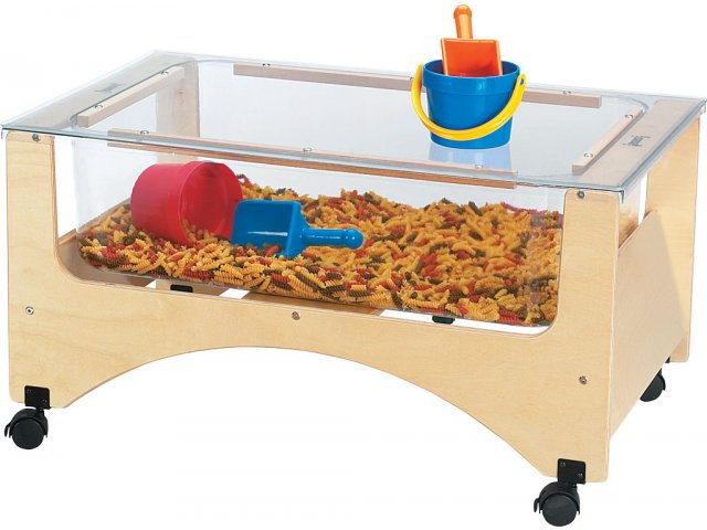 See Thru Sensory Table Toddler Size