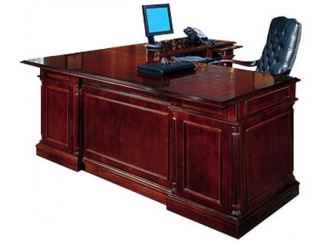 Executive L Shaped Office Desk R Rtn