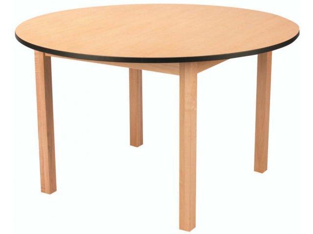 Edu Edge Round Wood Activity Table 48 Quot Dia Classroom Tables