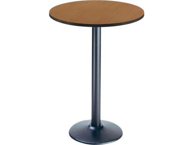 Deluxe Round BarHeight Cafe Table Round Base Dia Cafe Tables - Cafe table dimensions