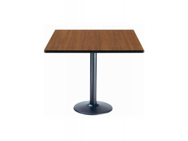 Deluxe Square Cafe Table Round Base X Cafe Tables - Cafe table dimensions
