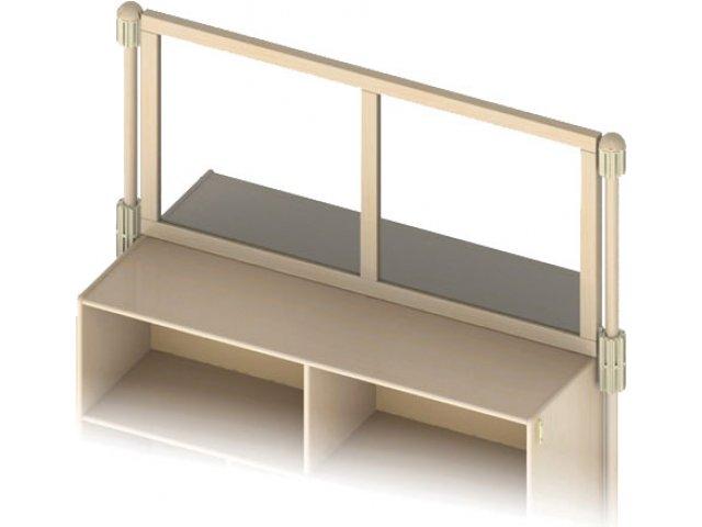 Upper Deck Acrylic Preschool Room Divider KYD 1580 Preschool Room