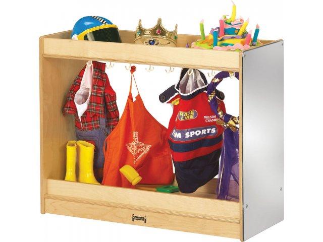 Preschool Dress Up Storage Closet KYD-0910, Dramatic Play