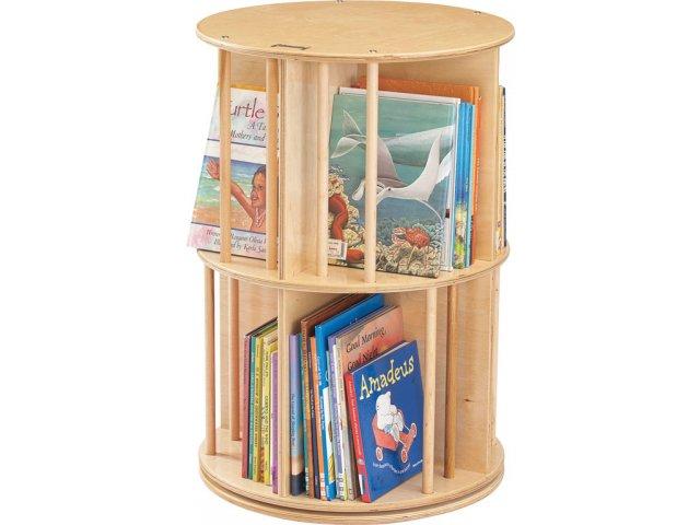 Book Go Round Preschool Book Display Carousel Kyd 3558