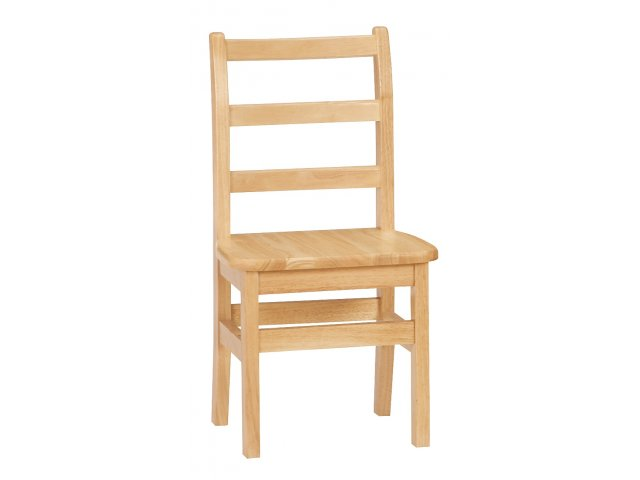 Ladderback Wooden School Library Chair