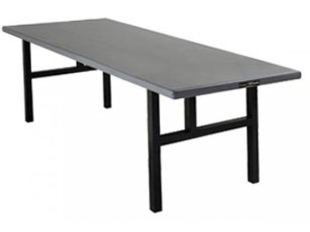 Aluminum Rectangular Folding Table  H Legs 60×30, Folding Tables -> Aluminium Table