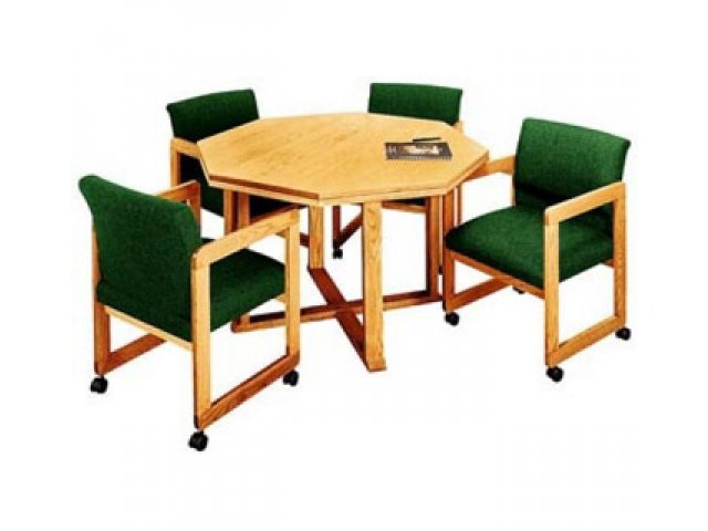 Ergo Octagonal Table 42 Wx42 D Conference Tables