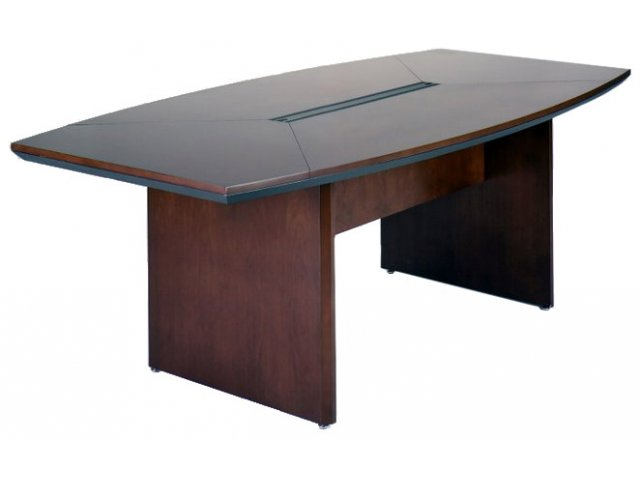 veneer boat conference table 84 wx42 d conference tables