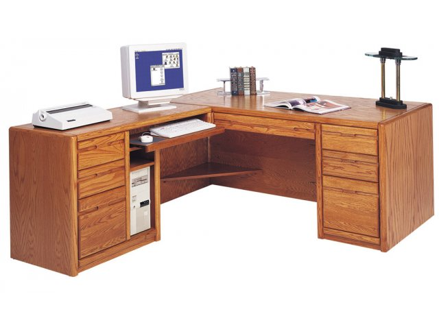 executive l shaped office desk w left rtn mco 684l office desks