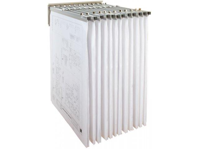 Pivot Wall Rack For Blueprints