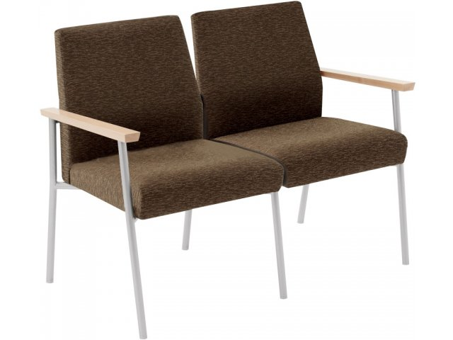 Mystic 2-Seat Sofa MYS-2801, Tablet Arm Chairs