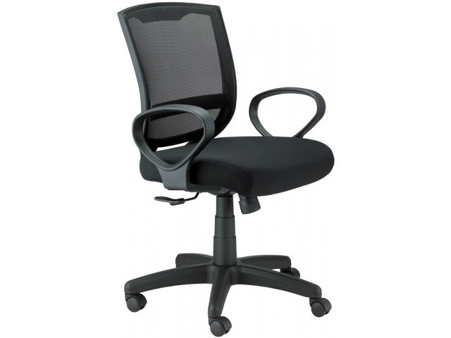 Maze Office Chair W Loop Arms MZE 3000 Teacher Chairs