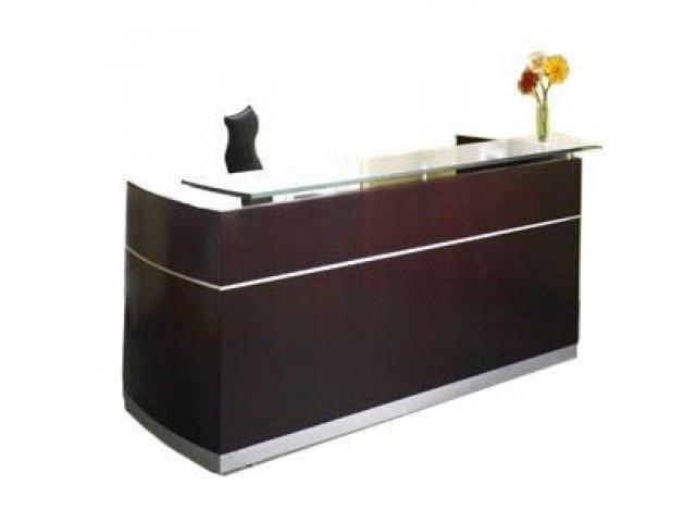 Napoli Reception Desk With Two Pedestals Nap 8643p
