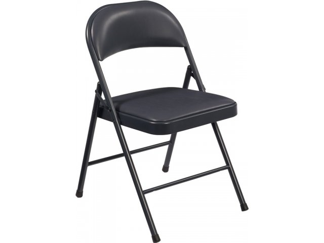 Cool Commercialine Vinyl Padded Folding Chair Pabps2019 Chair Design Images Pabps2019Com