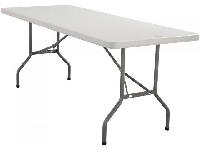 Blow Molded Rectangular Table 96 Quot X30 Quot Folding Tables