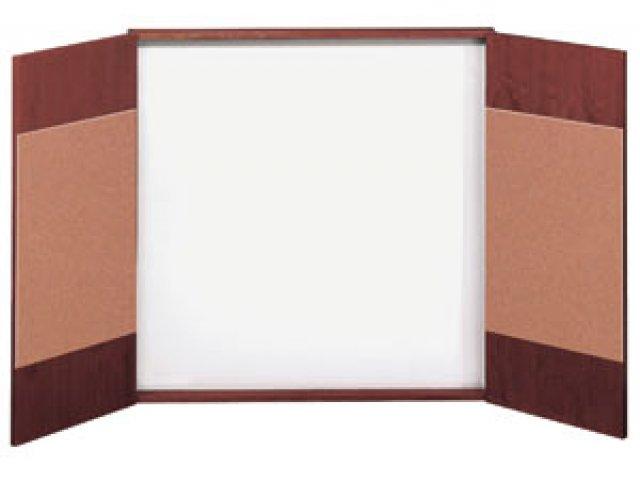 Wood veneer presentation cabinet closeout nsl