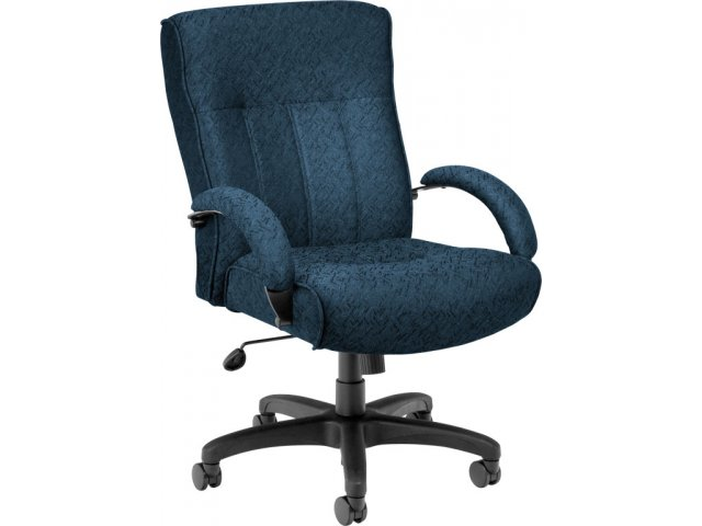 Big and Tall Mid Back Executive fice Chair OFM 711