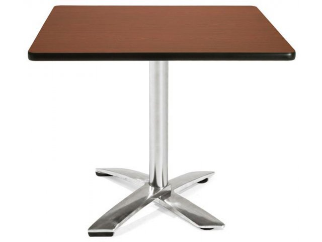 Square Flip Top Cafe Table Dining Height
