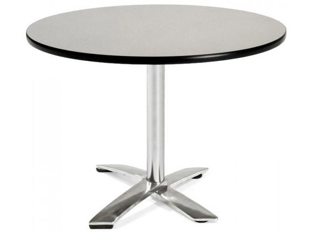 Round Flip Top Cafe Table Dining Height