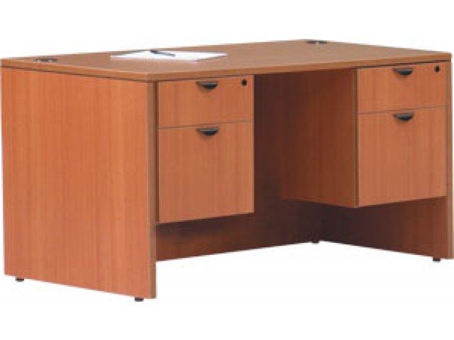 Double Pedestal Office Desk 3 4 Pedestals