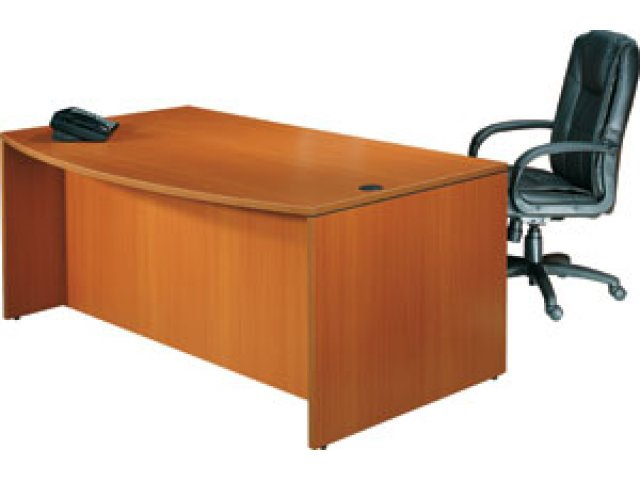 Executive Bow Front Office Desk OTG-7141P, Office Desks
