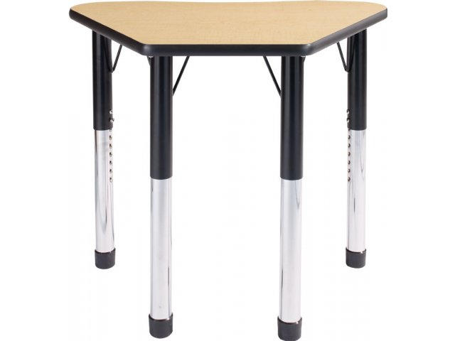Collaborative Student Desks ~ Petal collaborative classroom desk laminate top pet