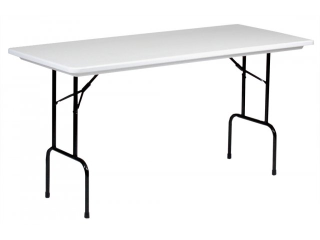 Counter Height Utility Table : ... Resin Rectangular Counter Height Folding Table 72