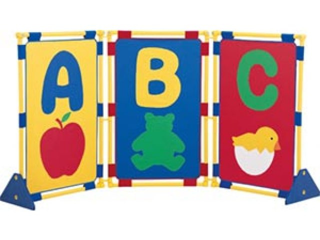 School Room Dividers Part - 35: Illustrated Alphabet Playpanel Set