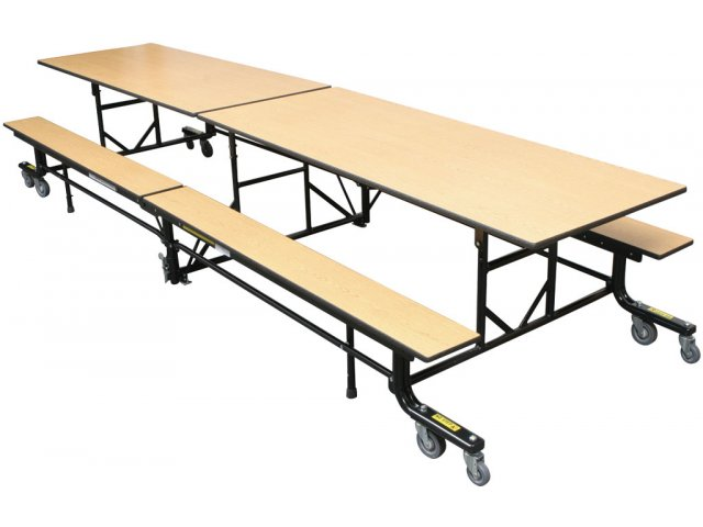 Easy Fold Mobile Cafeteria Table 10
