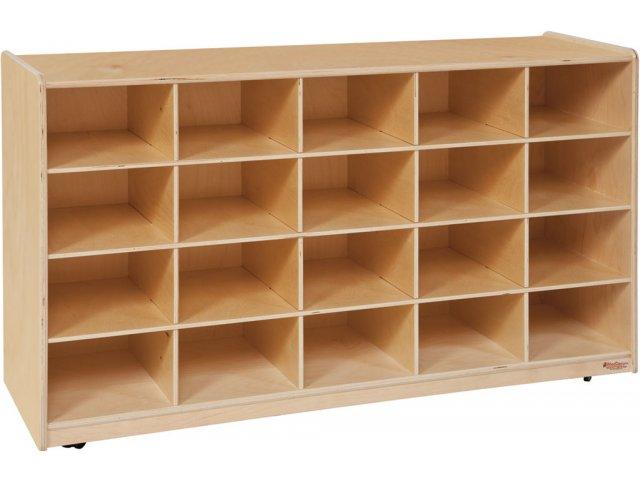 Hertz Customer Service Chat >> Mobile Preschool Cubby Storage - 20 Cubbies PRE-14509D, Preschool Cubbies